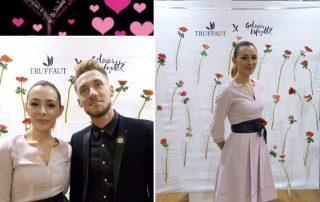 Agence Elegance Hôtesses pour la st valentin aux Galeries Lafayette