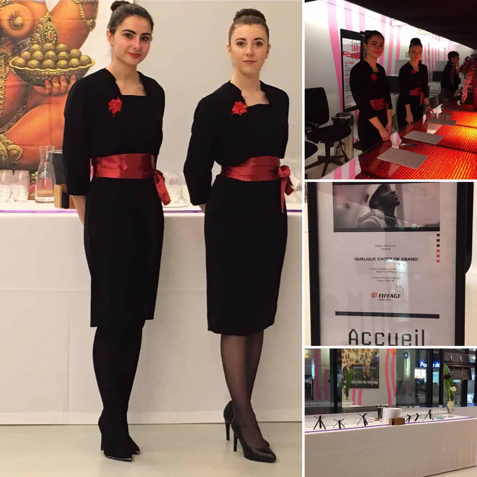 Agence elegance h tesses au forum des images pour eiffage for Hotesse pour salon