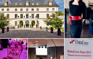 les hotesses Agence Elegance hôtesses pour les Datacoredays au domaine de Fremigny