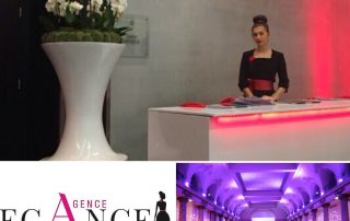 Agence d'hôtesses PARIS ELEGANCE hôtesses Pavillon