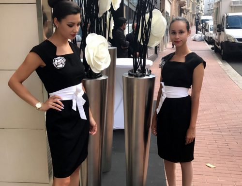 Agence d'hôtesses : Agence ELEGANCE Hôtesses Soirée Inauguration Showroom