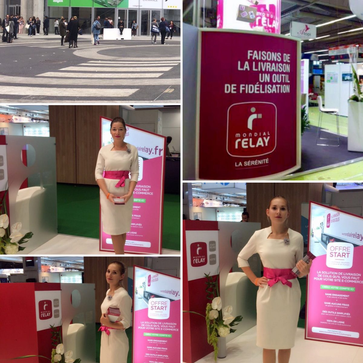 Agence d'hôtesse d'accueil Paris Accueil Salon Porte de Versailles Salon E commerce