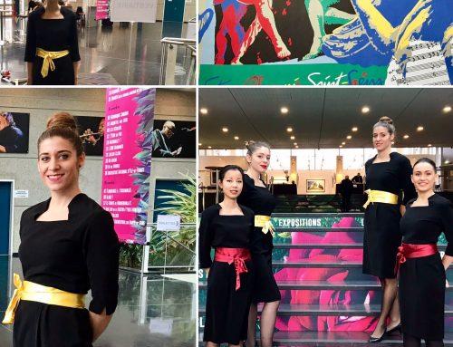Agence d'hôtesses d'accueil Paris : Agence ELEGANCE Hôtesses Accueil Congrès au centre événementiel de Courbevoie